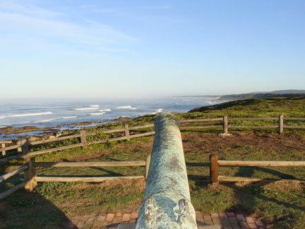 The Sacramento Cannon Monument – Port Elizabeth, South Africa -