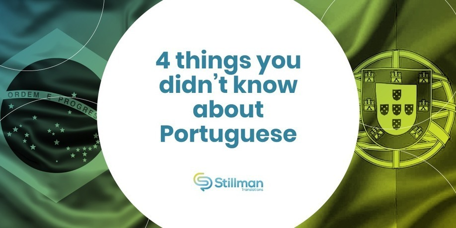 4 things you didn't know about Portuguese -