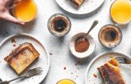 Giant Portuguese custard tart -