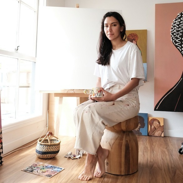 Mozambican Artist Mafalda Vasconcelos On The Exploration of Identity Through Art -