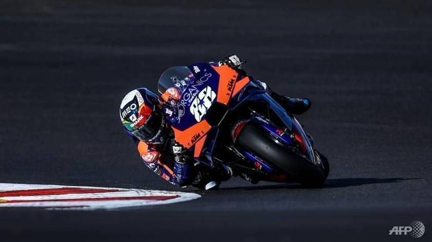 Homeboy Oliveira on Portuguese Moto Grand Prix pole -