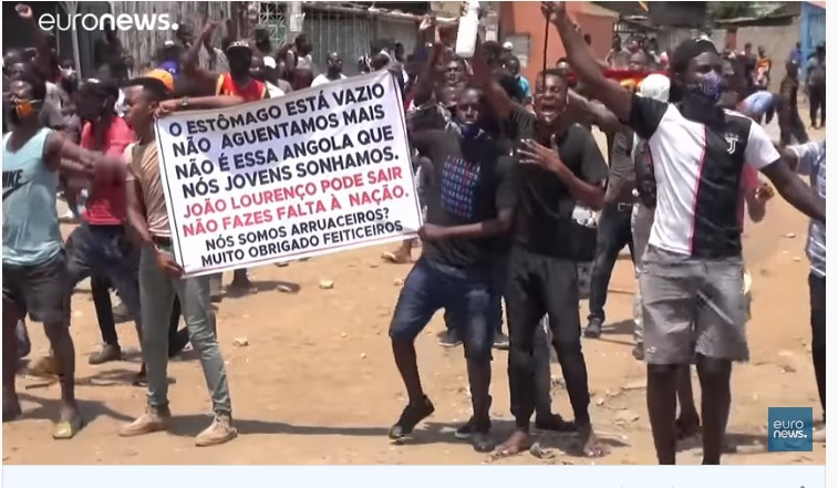 Angolan police repressed anti-government protests on Independence Day -