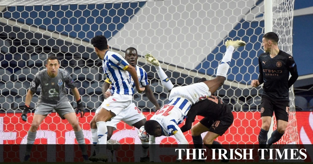Man City draw a blank in Porto as late Jesus goal is chalked off -