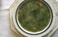 Caldo Verde (Portuguese Potato and Collard Green Soup With Chorizo) Recipe -