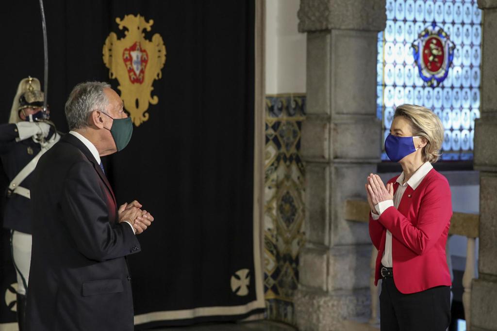 EU defends Portugal trip as ministers, officials quarantine -