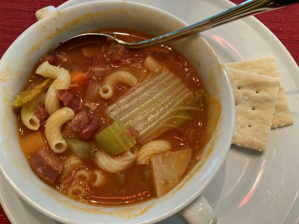 Hawaii-Style Portuguese Bean Soup, My Way -