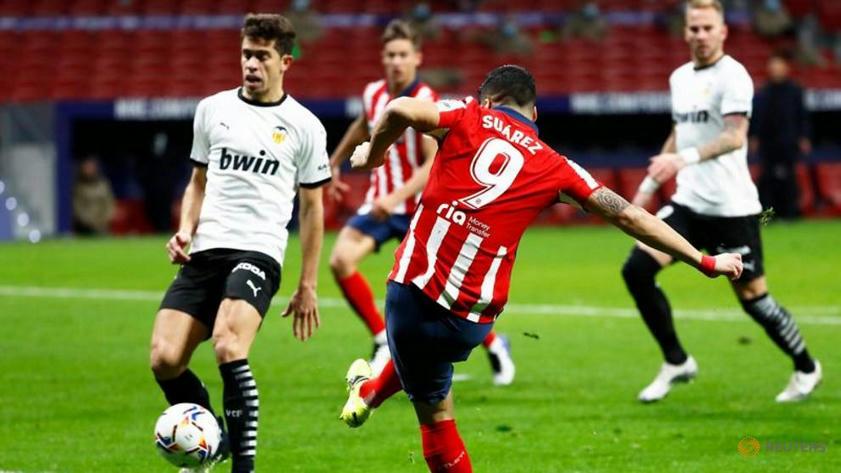 Joao Felix, Suarez fire relentless Atletico to victory over Valencia -