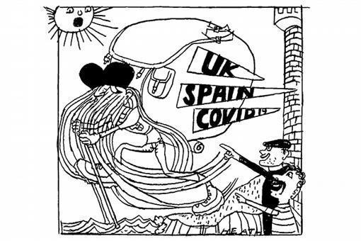 My taste of lockdown freedom on the Camino pilgrimage -