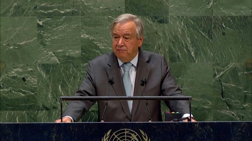 United Nations chief Antonio Guterres says he will seek 2nd term -