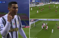 Cristiano Ronaldo Scores 32 Minute Hat-Trick For Juventus Vs Cagliari - his 57th -