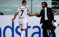 Ronaldo was happy to be substituted, insists Juve boss Pirlo -