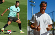 Cristiano Ronaldo meets up with Portugal teammates ahead of return to Manchester United -