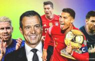 Cristiano Ronaldo's agent sends stern message on Ballon d'Or race