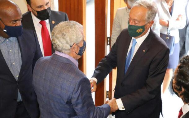 Portuguese President Marcelo Rebelo de Sousa Enjoyed a Visit to the Portuguese Sport Club of Newark