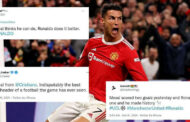 Twitter explodes as Cristiano Ronaldo seals late comeback win for Manchester United